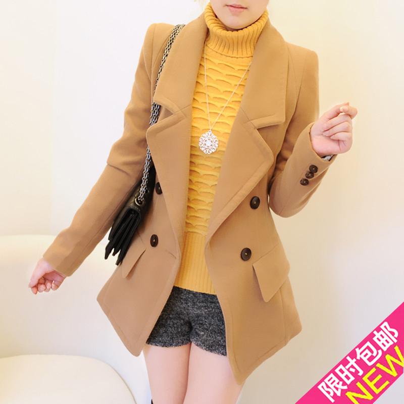 женское пальто 2012 осень 2012 средней длины (65 см <длины одежды ≤ 80 см) длинный рукав классический рукав