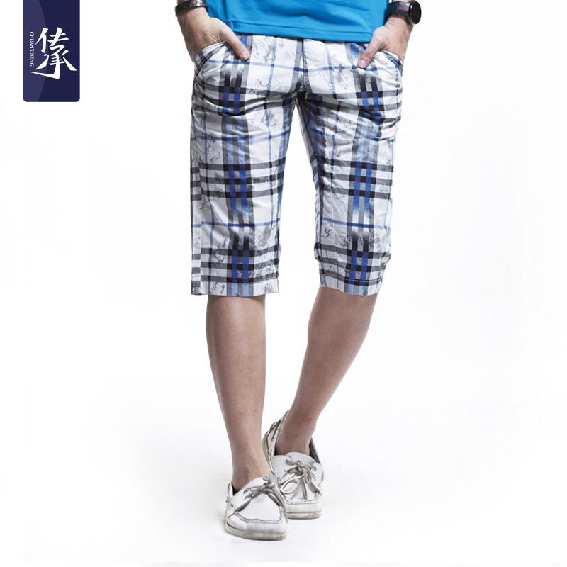 Повседневные брюки Heritage 8131263 2012 Прямой Хлопок без добавок Лето