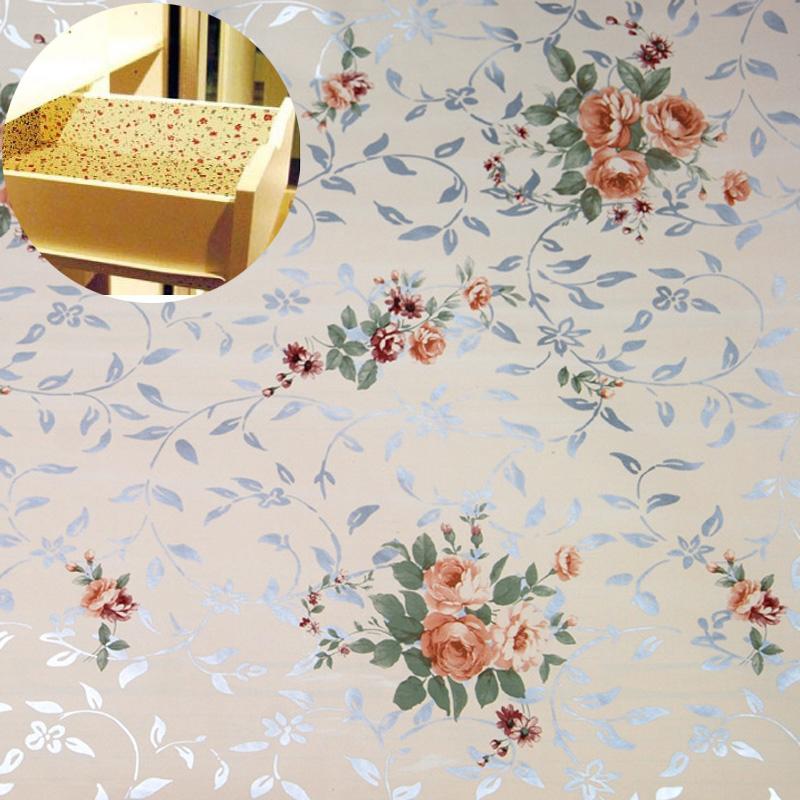 Влагостойкий коврик Японский стиль колодки бумаги могут быть склеены влагостойкие ящики/кабинет колодки 45 * 200 см