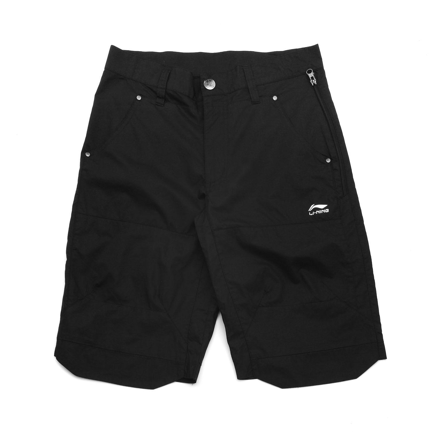 Спортивные шорты Lining akqf075/1 LI-NING AKQF075-1 Для мужчин Эластичный 100 хлопок Капри / бриджи ( длинные ) Для спорта и отдыха % 100% хлопок