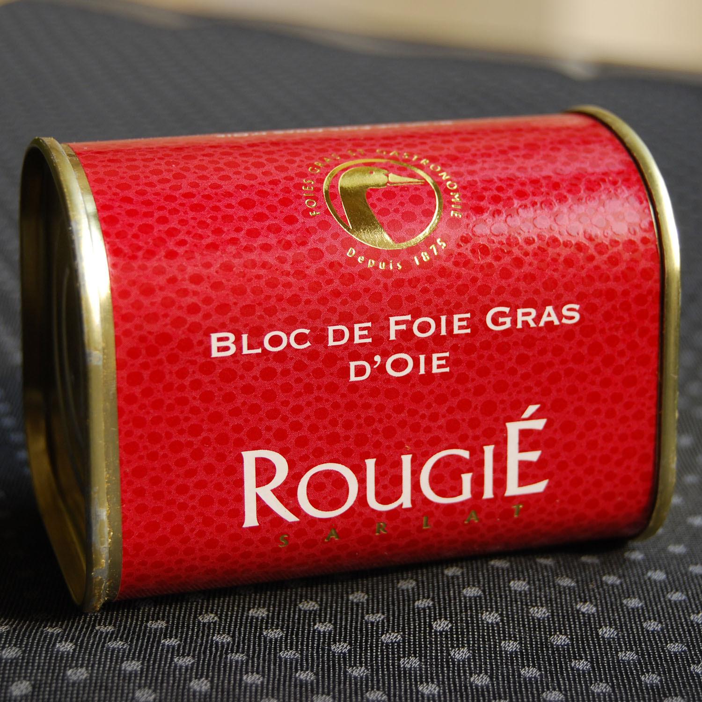 鹅肥肝酱_法国进口露杰牌(rougié)鹅肥肝鹅肝酱 100%纯 145g单