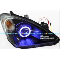 一汽森雅M80天使眼大灯海5双光透镜氙气灯森雅M80大灯LED日行灯