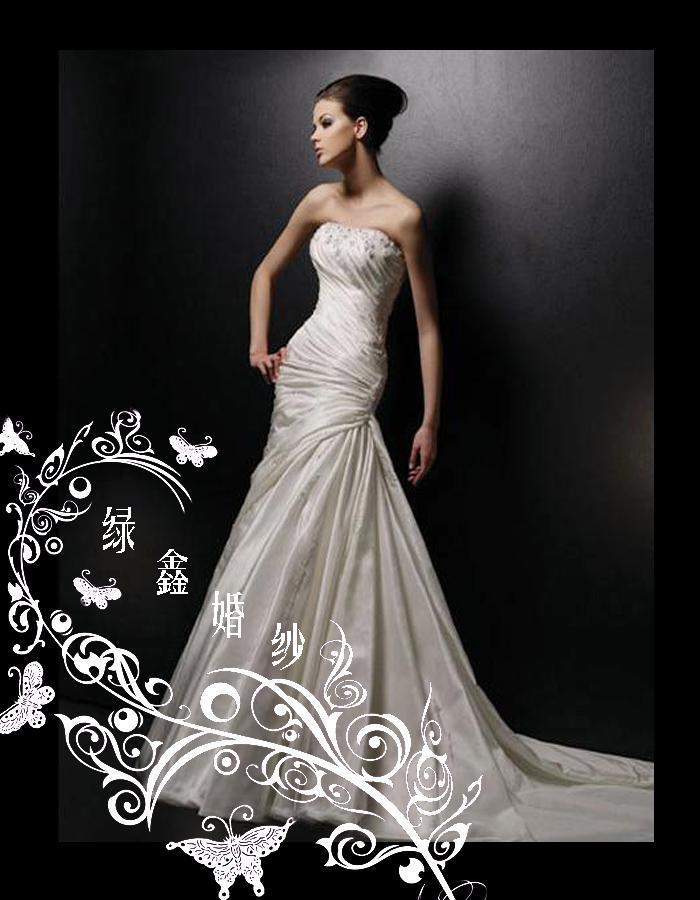 Свадебное платье A26 200 2012 Плотная ткань Длинный шлейф Принцесса