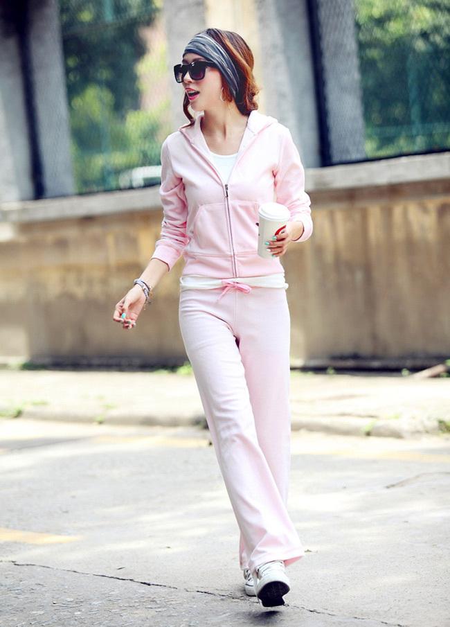 Цвет: Светло-розовый (брюки без карманов)