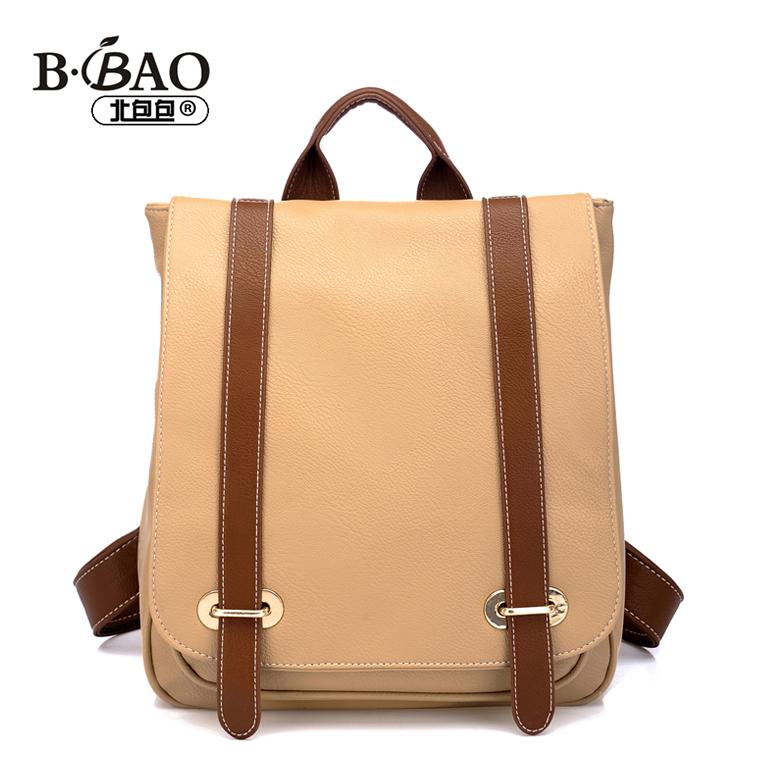 北包包 秋季新款韩版双肩包 背包 学生包休闲后背包包1550