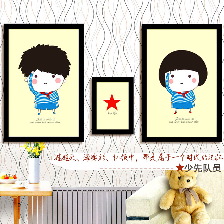 Package mail printed cross stitch series the young pioneers new living room painting cross stitch on the three latest sharp