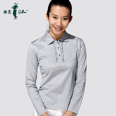 Golf Apparel long-sleeved T-shirt female models Egyptian cotton / Wenrunruyu sleeved T-shirt Paradigm golfree