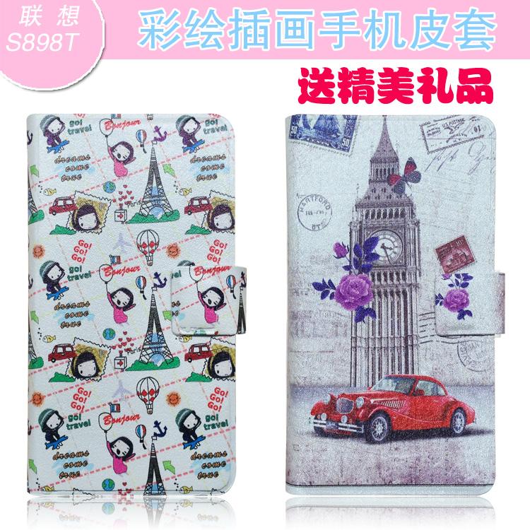 Чехлы, Накладки для телефонов, КПК Din Tai Lenovo S898t S898t S898T