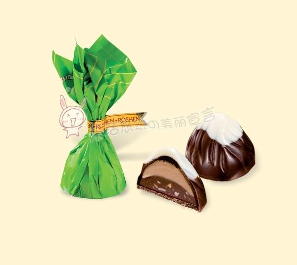 乌克兰原装ROSHEN 蒙博朗奶油榛仁巧克力 200克 很适合做喜糖