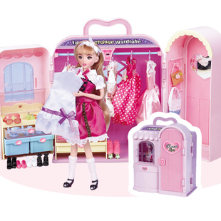 Jill doll dream wardrobe girl toy House toy birthday gifts