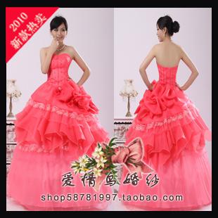 Свадебное платье Сучжоу любовь птицы свадебное платье вечернее платье, свадебное платье/красный настроения/фотографии/могут быть настроены Кружево Юбка-пачка