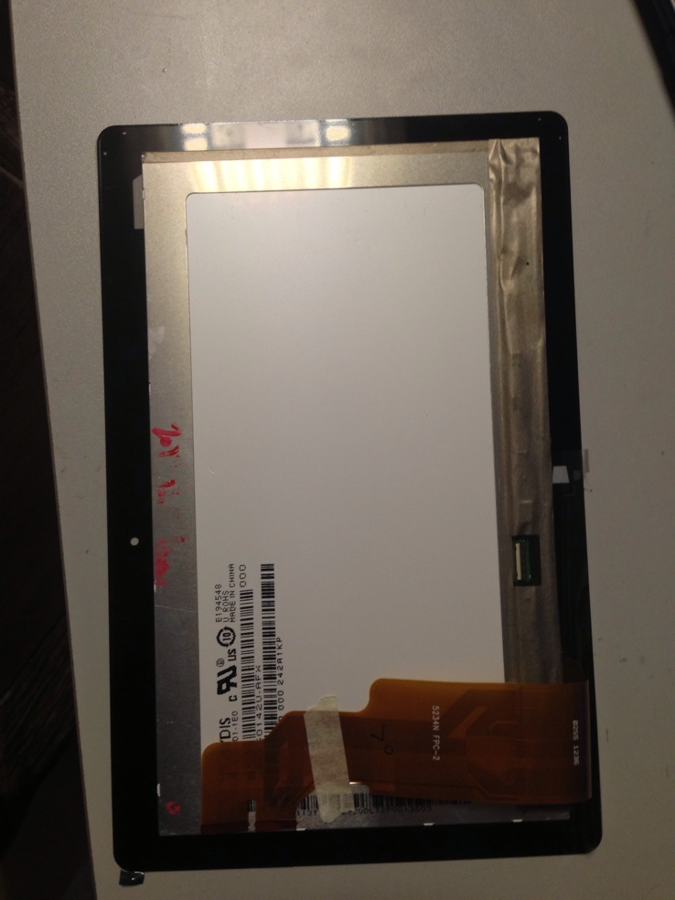 Запчасти для планшетных устройств Оригинальные tf600t tf600 ASUS сенсорных панели LCD экран hv101hd1