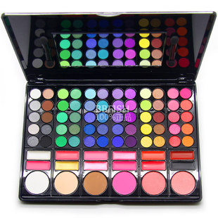 Authentic Coastal Scents color 78 luxury make-up makeup case makeup disk set complete set