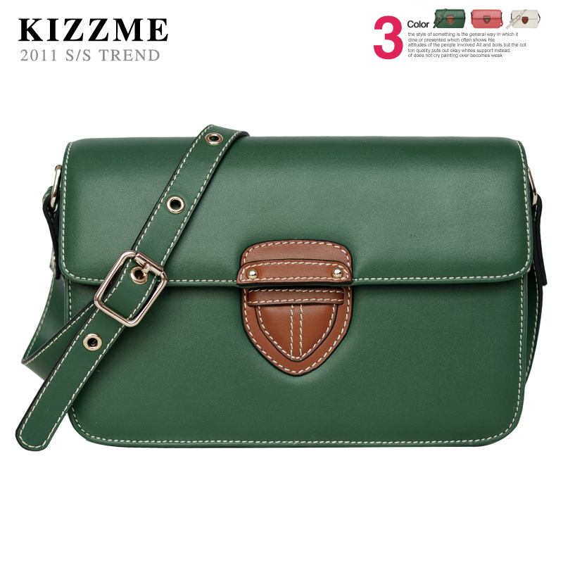Korean version of the new classic Shoulder leather handbag