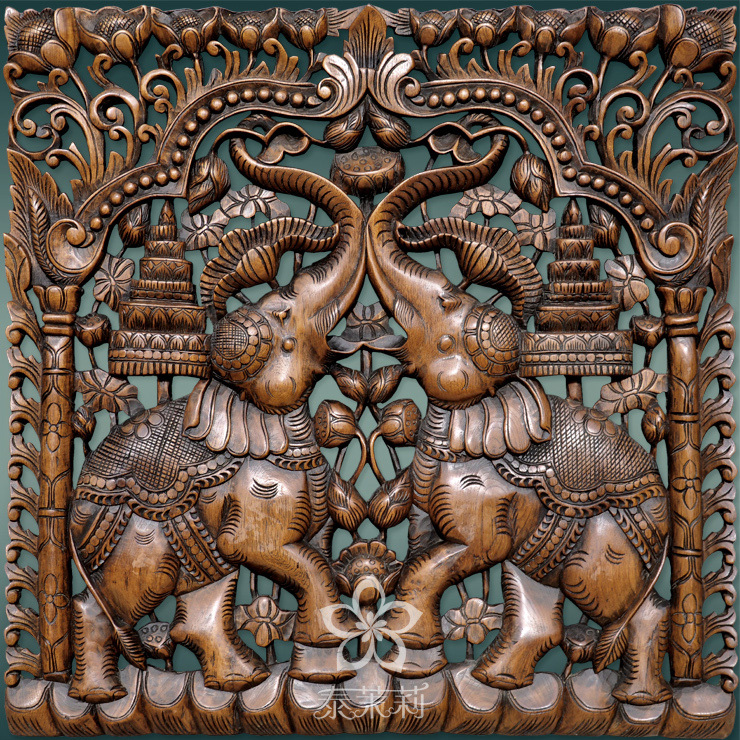 Thai carving teak wood pinterest