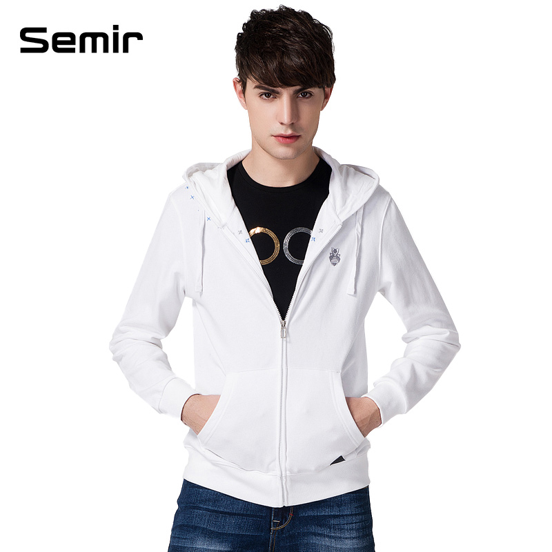 Semir new men's spring 2014 fleece Taobao Agents