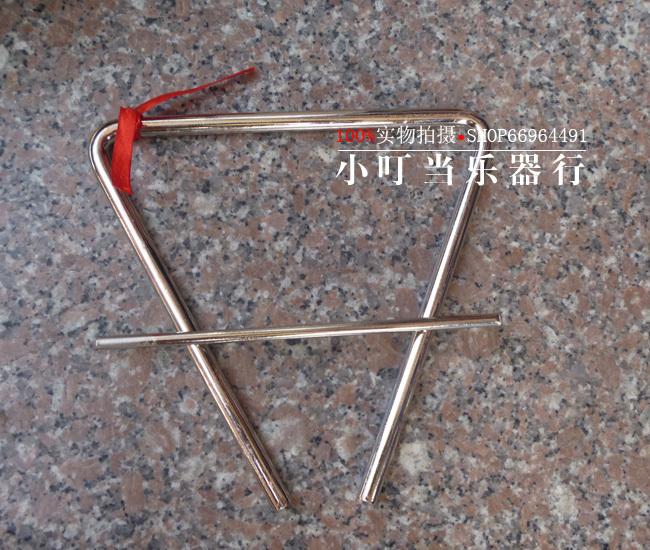 Детский музыкальный инструмент Король размер треугольник треугольник перкуссия (CA 18 см)