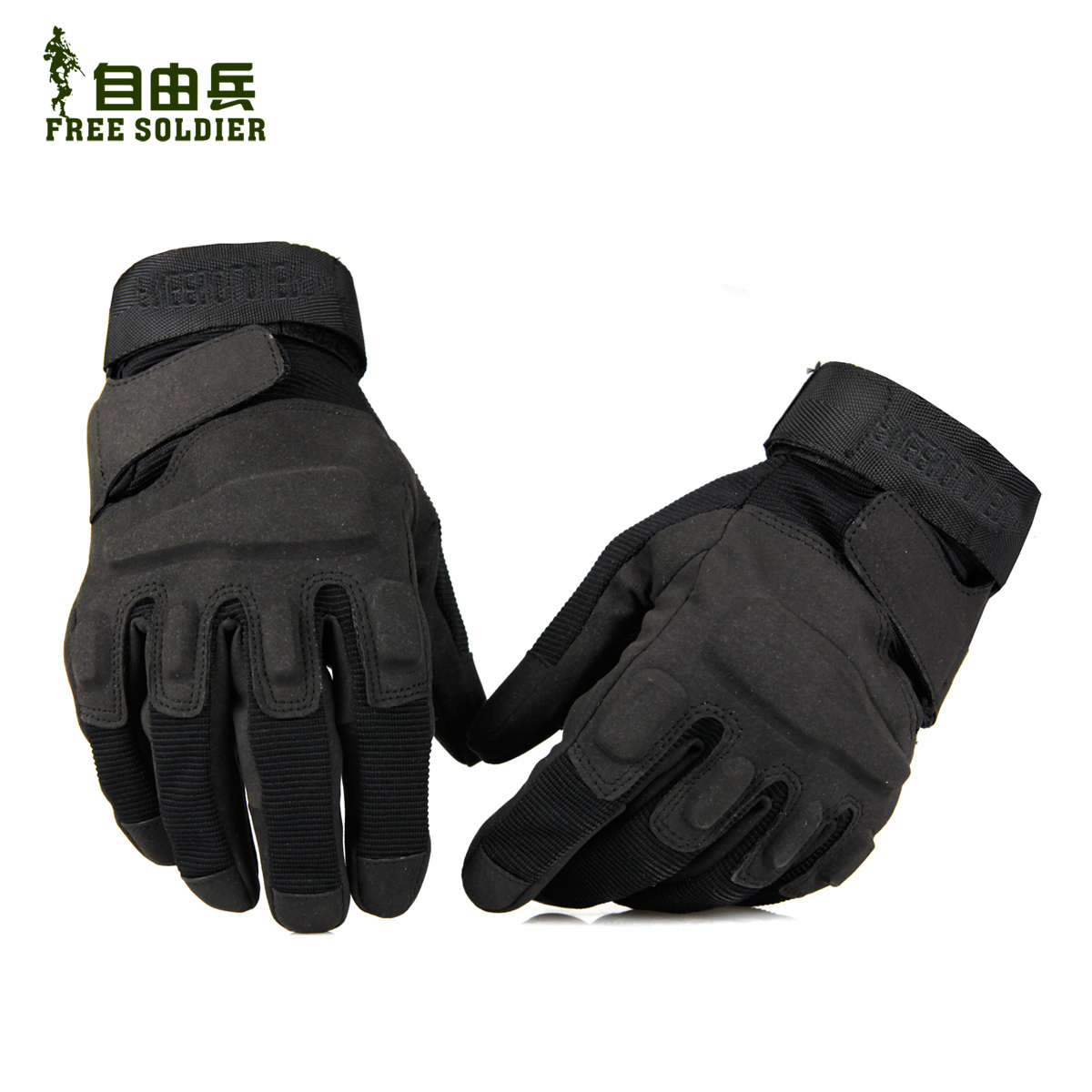 Free outdoor Black Hawk tactical gloves Black Hawk army hell storm fans total finger gloves