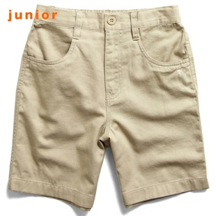 2012 new stock recommendation Giordano shorts boys embroidered calf khaki shorts, daily in summer 03100008