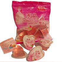水晶之恋 心形喜之郎果冻10粒150g袋装 喜糖结婚婚庆糖果零食批发 价格:2.20