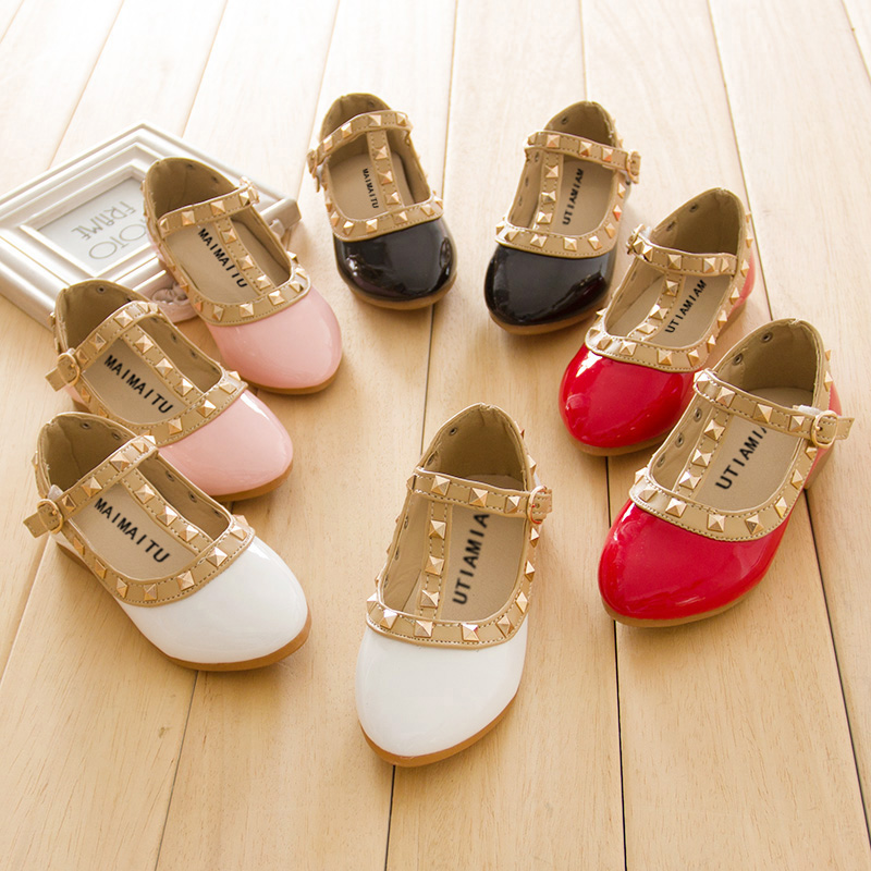 Autumn 2014 Korean version of the new girls' shoes princess shoes Trendy Shoes Rhinestone children in child big boy shoes sandals