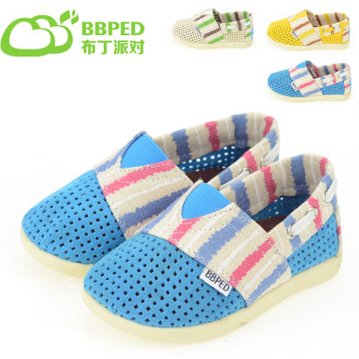 BBPED pudding party summer with children's canvas shoes sailing hollow out specials men and women's shoes breathable soft bottom
