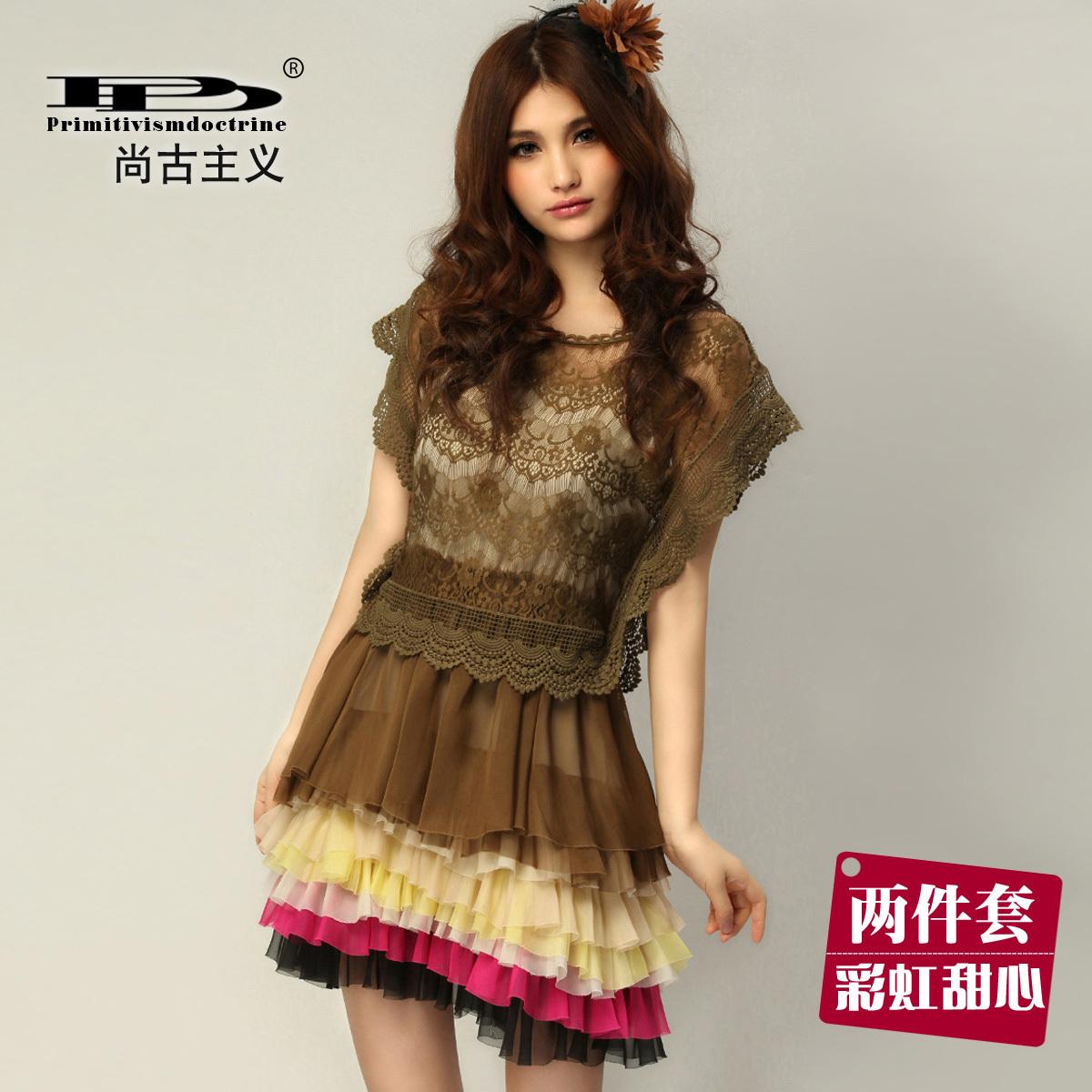 Женское платье Drinitioisn L80080 2012 Шифон