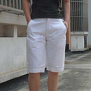 Женские брюки 2012夏季新款 大码女装 女士休闲中裤 五分裤 白色 Шорты