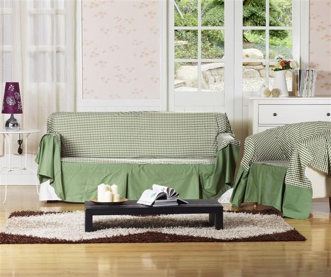 Накидка для дивана Nomex Корейский сад софа суперобложка полотенце хлопка решетки ткани крышки софа