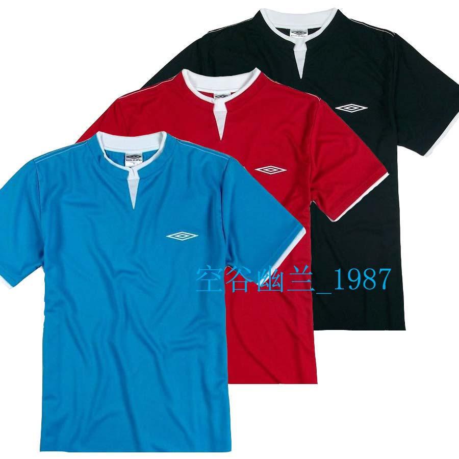 Спортивная футболка Umbro 11111111111 *UMB*O Воротник-стойка Спорт на открытом воздухе Воздухопроницаемые, Быстросохнущие С логотипом бренда