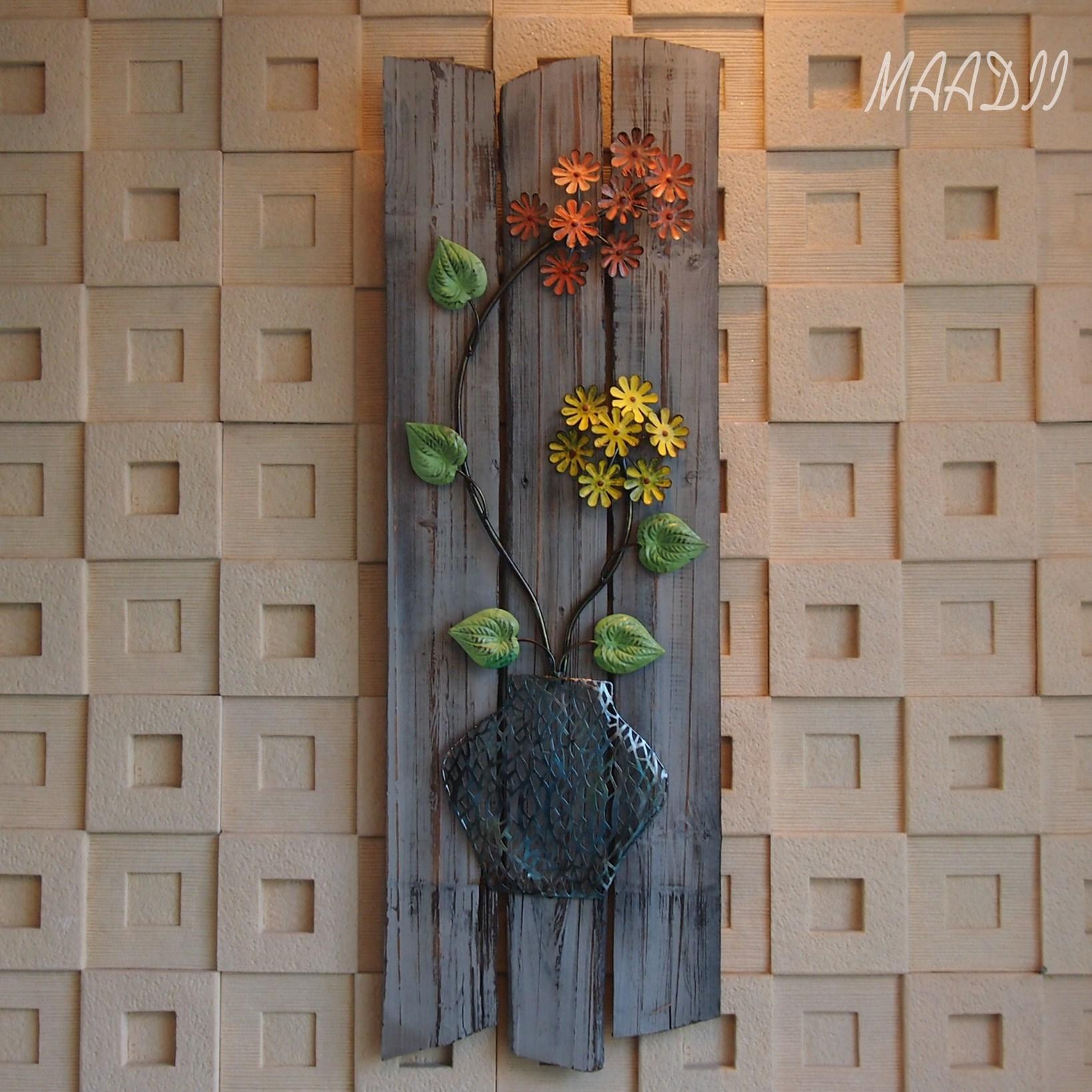 漫邸欧式特色复古木质铁艺壁挂壁饰创意墙上装饰品背景墙饰品挂饰图片