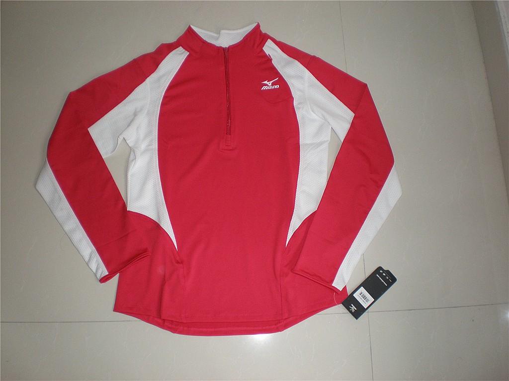 Спортивная футболка MIZUNO MIZUNO Воротник-стойка Полиэстер Для спорта и отдыха Логотип бренда