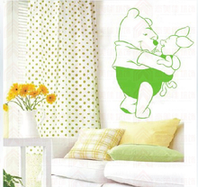 Wall paint is hollow-out template DIY fashion wall stickers graffiti coloured drawing or pattern template series of children's hug