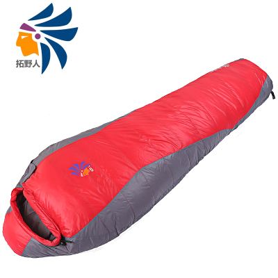 Mummy-style sleeping bag to keep warm outdoors adult outdoor winter thick down sleeping bag down sleeping bag