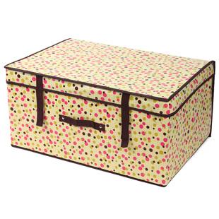 友纳 特大号有盖衣物收纳箱 可擦洗储物箱 防水整理箱特价收纳盒