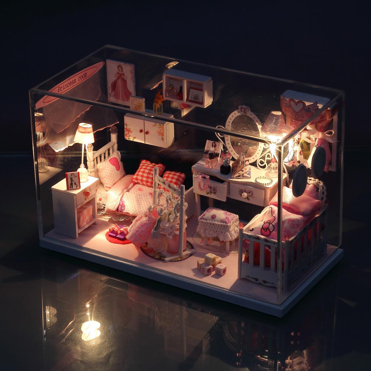 梦幻公主房 创意生日礼物送女生女朋友孩男友特别实用礼品 防尘罩