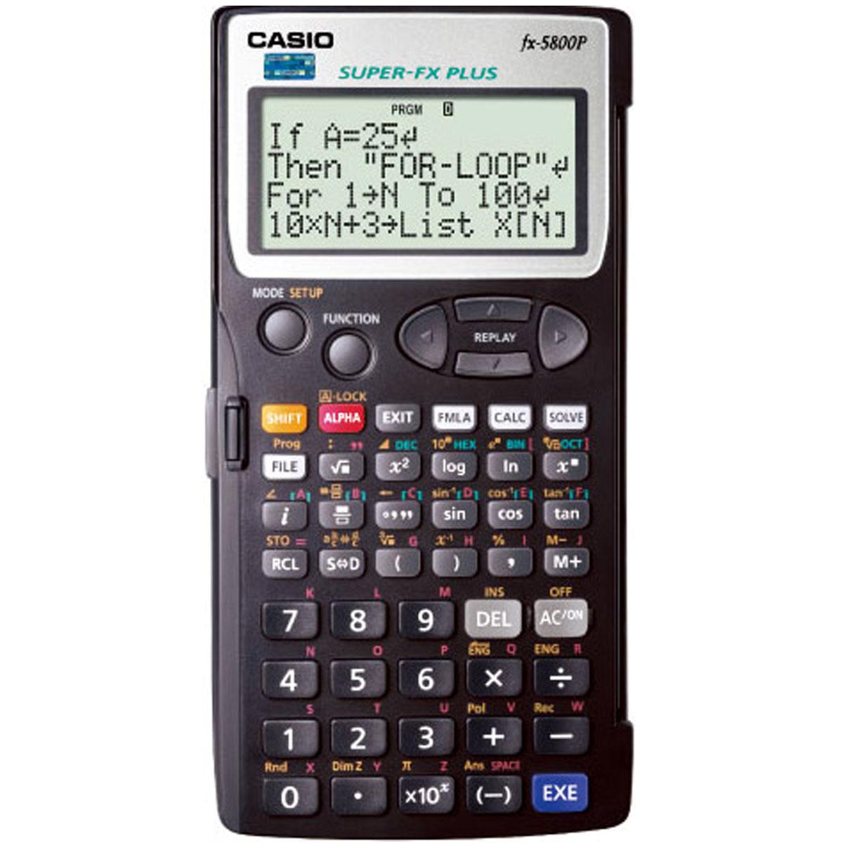 计算器 卡西欧计算器 casio 函数工程计算器 fx-5800p