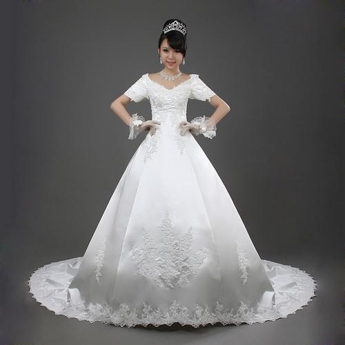 Свадебное платье Yeah love the degree of 2013 Весна 2013 Атлас, сатин Небольшой шлейф Принцесса