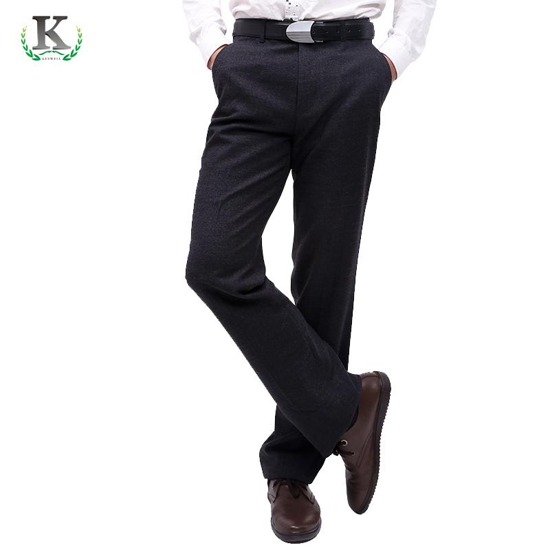克斯威尔 新款秋冬男装 正装商务休闲男士西裤 修身西裤长裤