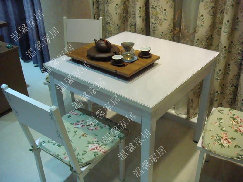 Стол обеденный Европейский сад досуг Корейский обеденный стол и стул сочетание белого таблицы таблицы гладкий, минималистский стол обеденный стол Стиль минимализм