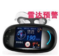 正品e路航云自动升级单独播路况车载GPS 电子眼导航仪双测速一体