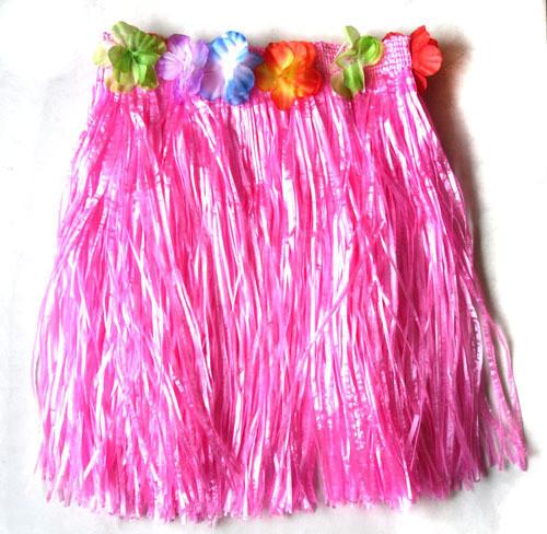 Как сделать гавайские юбки своими руками видео