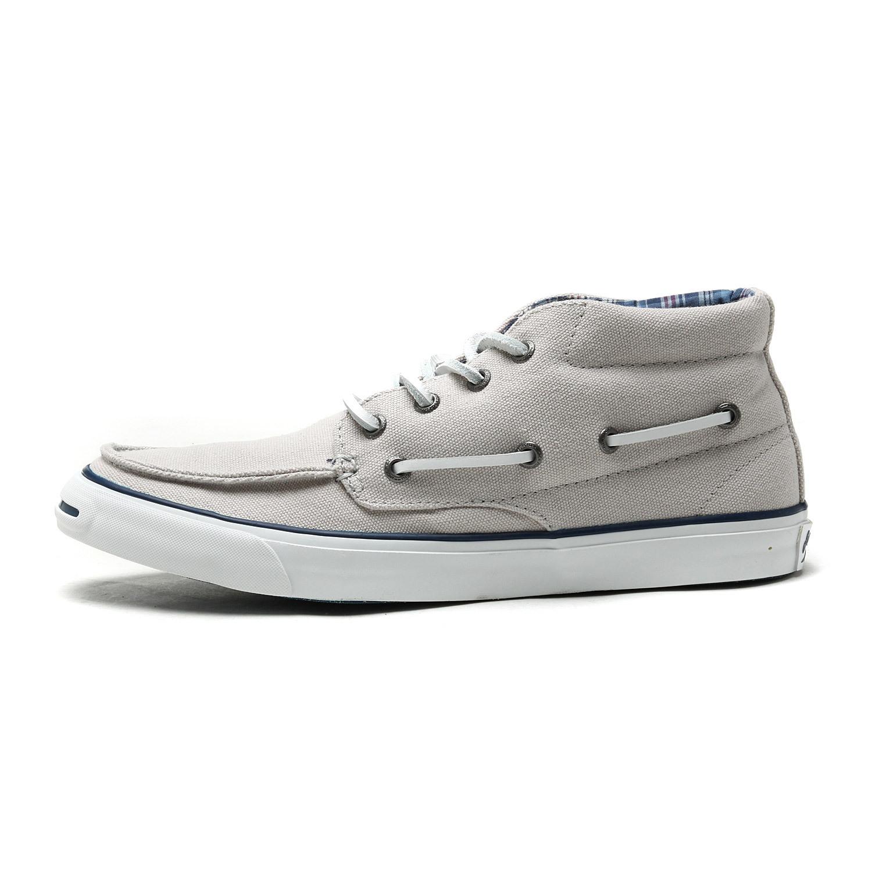 匡威帆布鞋converse系带漆皮通用运动鞋亮皮白色帆船中帮舒适品牌图片