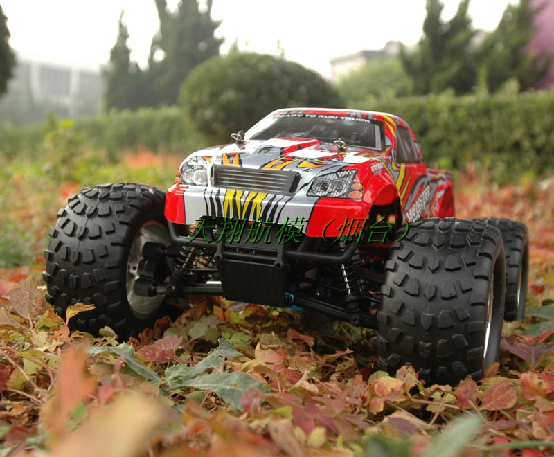 HSP unlimited fuel 1:10 a genuine four-drive car, Nitro RC car buggy monster truck 94,188 full specials