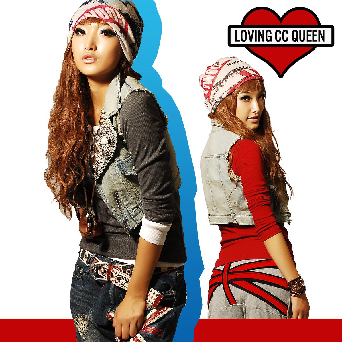 Женская жилетка   2012 CC B0017