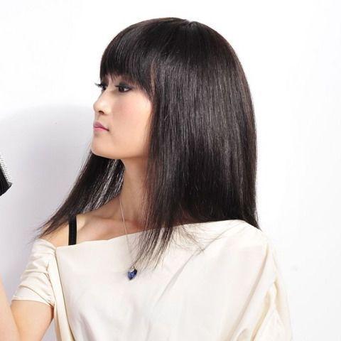 不染发也时尚!五款自然黑的长发推荐