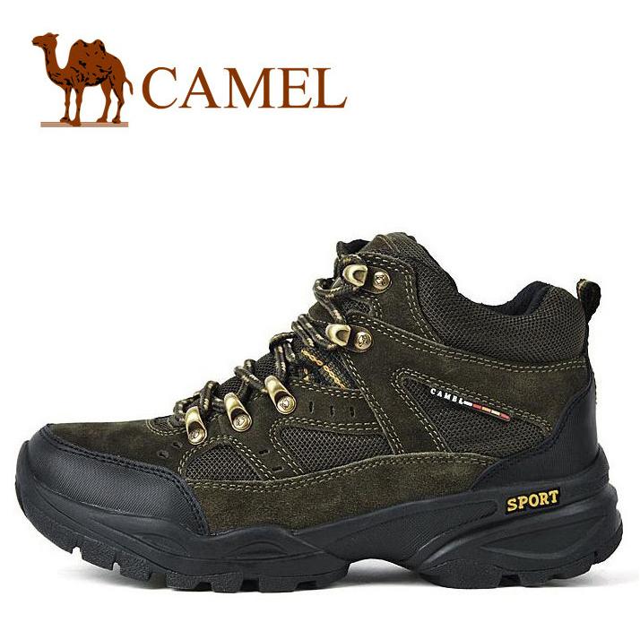 Ботинки мужские Camel 1230623 Для отдыха Круглый носок Кожа Замша Зима