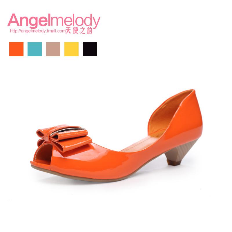 Босоножки Angel Melody 8301/2 На низком каблуке (менее 3 см) Летом 2012 года Искусственная кожа