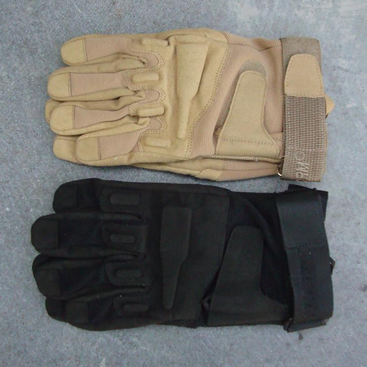 防滑军迷作战格斗 男美军 黑鹰战术手套全指秋冬季手套