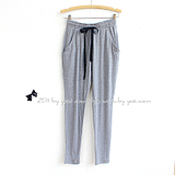 K-999-029 new spring/summer 2012 women's wear in the wild thin elastic waist knit waist and Emile verhaeren pants